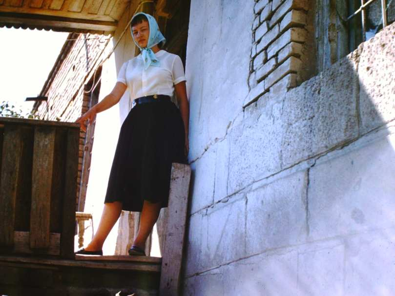 Charlotte Jirousek in Iğdır 1959